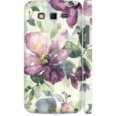 Чехол на Samsung Galaxy Grand 2 G7102 Акварель цветы