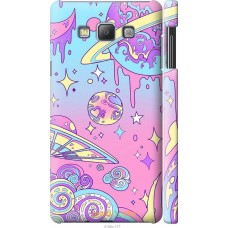 Чехол на Samsung Galaxy A7 A700H 'Розовый космос