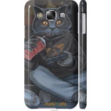 Чехол на Samsung Galaxy E5 E500H gamer cat