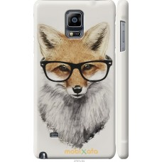 Чехол на Samsung Galaxy Note 4 N910H 'Ученый лис
