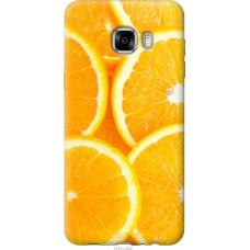 Чехол на Samsung Galaxy C7 C7000 Апельсинки