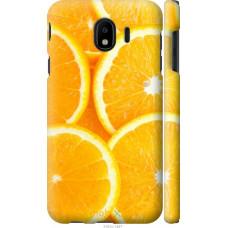 Чехол на Samsung Galaxy J4 2018 Апельсинки