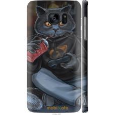 Чехол на Samsung Galaxy S7 Edge G935F gamer cat