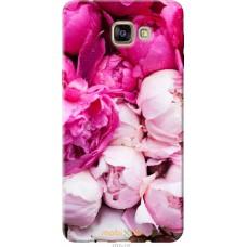 Чехол на Samsung Galaxy A9 A9000 Розовые цветы
