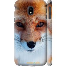 Чехол на Samsung Galaxy J3 (2017) Рыжая лисица