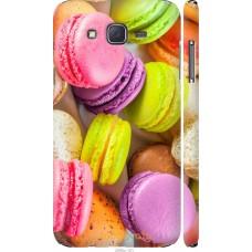 Чехол на Samsung Galaxy J7 J700H Вкусные макаруны