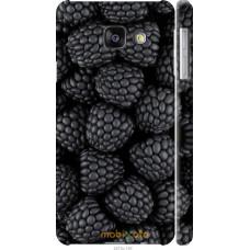 Чехол на Samsung Galaxy A3 (2016) A310F Черная ежевика