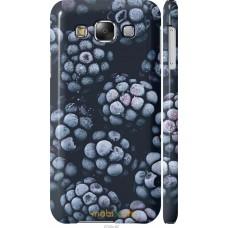 Чехол на Samsung Galaxy E5 E500H Морозная ежевика