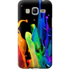 Чехол на Samsung Galaxy J2 (2016) J210 брызги краски