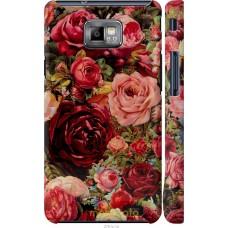 Чехол на Samsung Galaxy S2 Plus i9105 Прекрасные розы