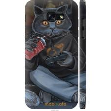 Чехол на Samsung Galaxy A5 (2017) gamer cat