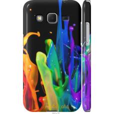Чехол на Samsung Galaxy Core Prime VE G361H брызги краски