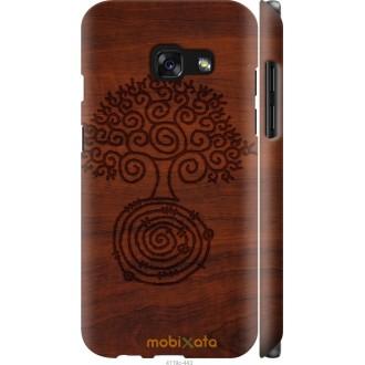 Чехол на Samsung Galaxy A3 (2017) Узор дерева