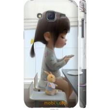 Чехол на Samsung Galaxy J5 (2015) J500H Милая девочка с зайч