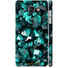 Чехол на Samsung Galaxy A7 (2016) A710F Кристаллы 2