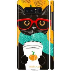 Чехол на Samsung Galaxy Note 8 Осенний кот