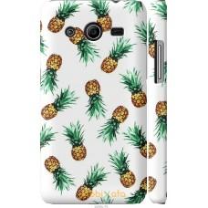 Чехол на Samsung Galaxy Core 2 G355 Ананас