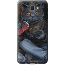Чехол на Samsung Galaxy J5 Prime gamer cat