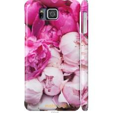 Чехол на Samsung Galaxy Alpha G850F Розовые цветы