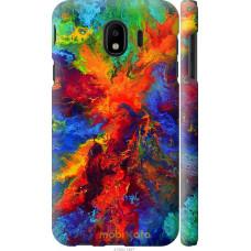 Чехол на Samsung Galaxy J4 2018 Акварель на холсте