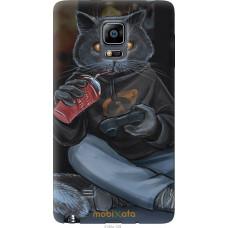 Чехол на Samsung Note Edge SM-N915 gamer cat