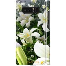 Чехол на Samsung Galaxy Note 8 Лилии белые