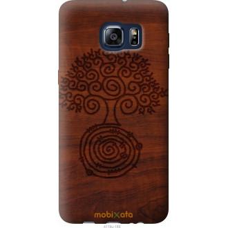 Чехол на Samsung Galaxy S6 Edge Plus G928 Узор дерева