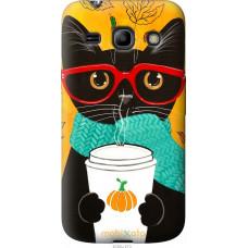 Чехол на Samsung Galaxy Star Advance G350E Осенний кот