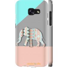 Чехол на Samsung Galaxy A3 (2017) Узорчатый слон