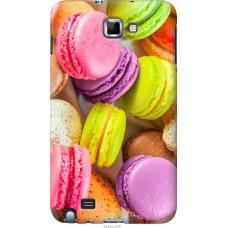 Чехол на Samsung Galaxy Note i9220 Вкусные макаруны