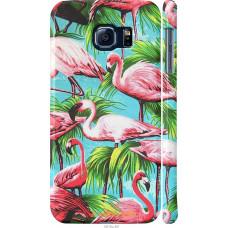 Чехол на Samsung Galaxy S6 G920 Tropical background