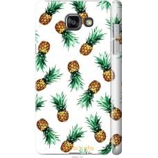 Чехол на Samsung Galaxy A7 (2016) A710F Ананас
