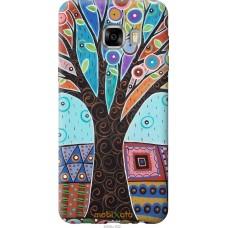 Чехол на Samsung Galaxy C7 C7000 Арт-дерево