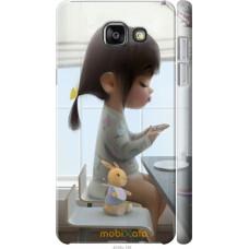 Чехол на Samsung Galaxy A5 (2016) A510F Милая девочка с зайч