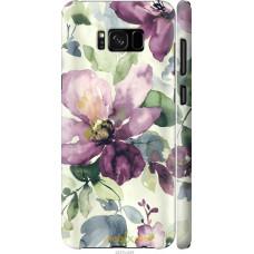 Чехол на Samsung Galaxy S8 Акварель цветы
