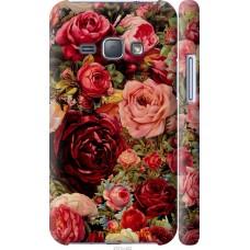 Чехол на Samsung Galaxy J1 (2016) Duos J120H Прекрасные розы