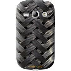 Чехол на Samsung Galaxy Fame S6810 Металлические фоны
