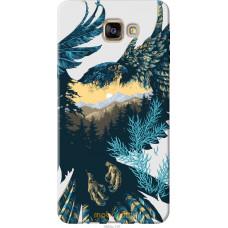 Чехол на Samsung Galaxy A9 A9000 Арт-орел на фоне природы