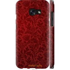 Чехол на Samsung Galaxy A3 (2017) Чехол цвета бордо