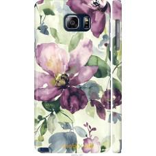 Чехол на Samsung Galaxy Note 5 N920C Акварель цветы