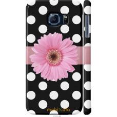 Чехол на Samsung Galaxy S6 G920 Цветочек горошек v2