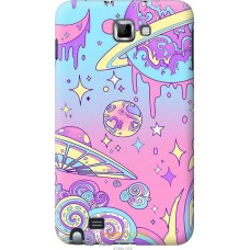 Чехол на Samsung Galaxy Note i9220 'Розовый космос