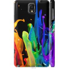 Чехол на Samsung Galaxy Note 3 N9000 брызги краски