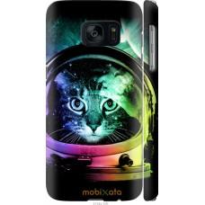 Чехол на Samsung Galaxy S7 G930F Кот космонавт