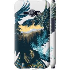 Чехол на Samsung Galaxy J1 Ace J110H Арт-орел на фоне природ