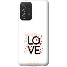 Чехол на Samsung Galaxy A52 falling in love