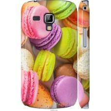 Чехол на Samsung Galaxy S Duos s7562 Вкусные макаруны
