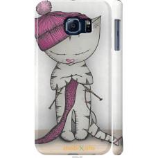 Чехол на Samsung Galaxy S6 G920 Кошка рукодельница