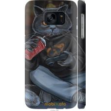 Чехол на Samsung Galaxy S7 G930F gamer cat