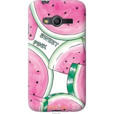 Чехол на Samsung Galaxy Ace 4 Lite G313h Розовый арбузик